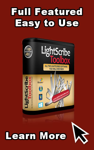 The Full Featured LightScribe Software
