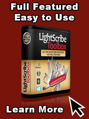 Full Featured LightScribe Software