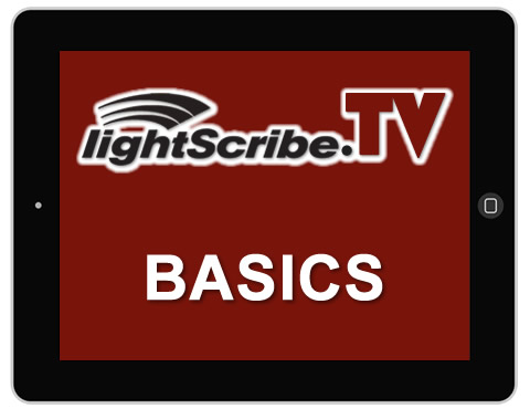 The basics for setting up LightScribe