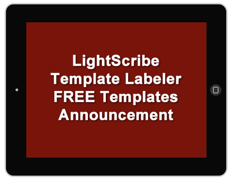 LightScribe Template Labeler FREE Templates