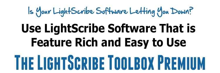 TheLightScribe Toolbox Premium